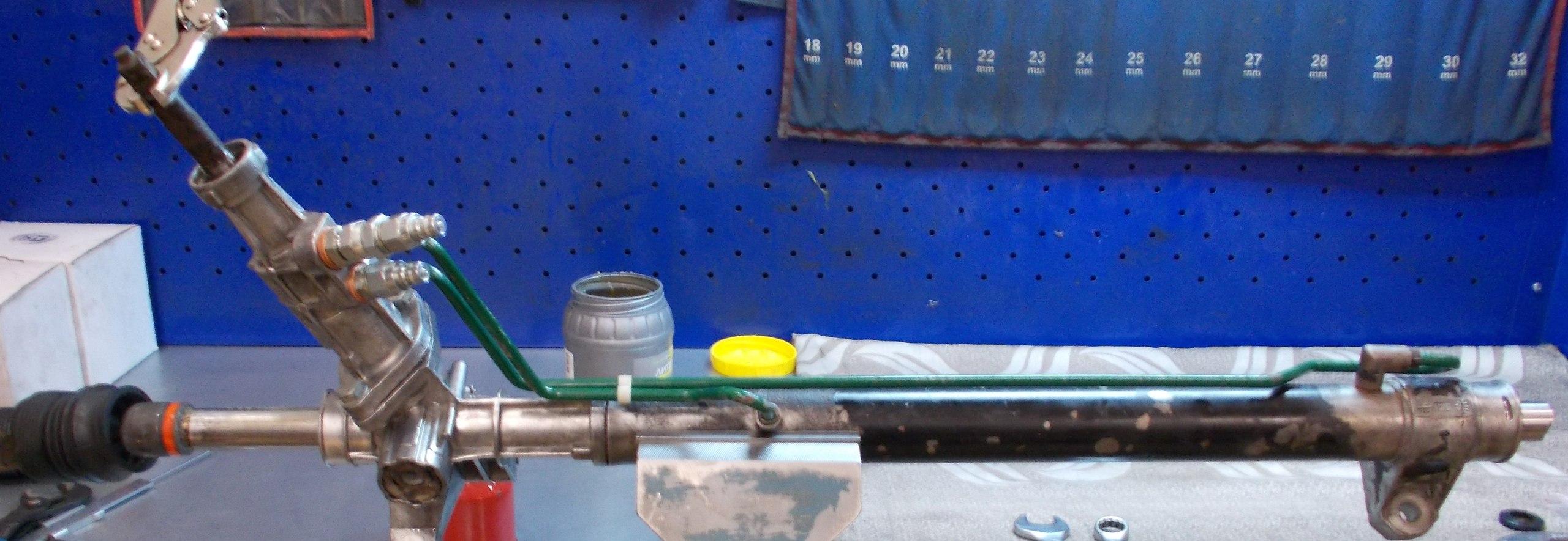 Ремонт рулевой рейки для рено симбол своими руками 81