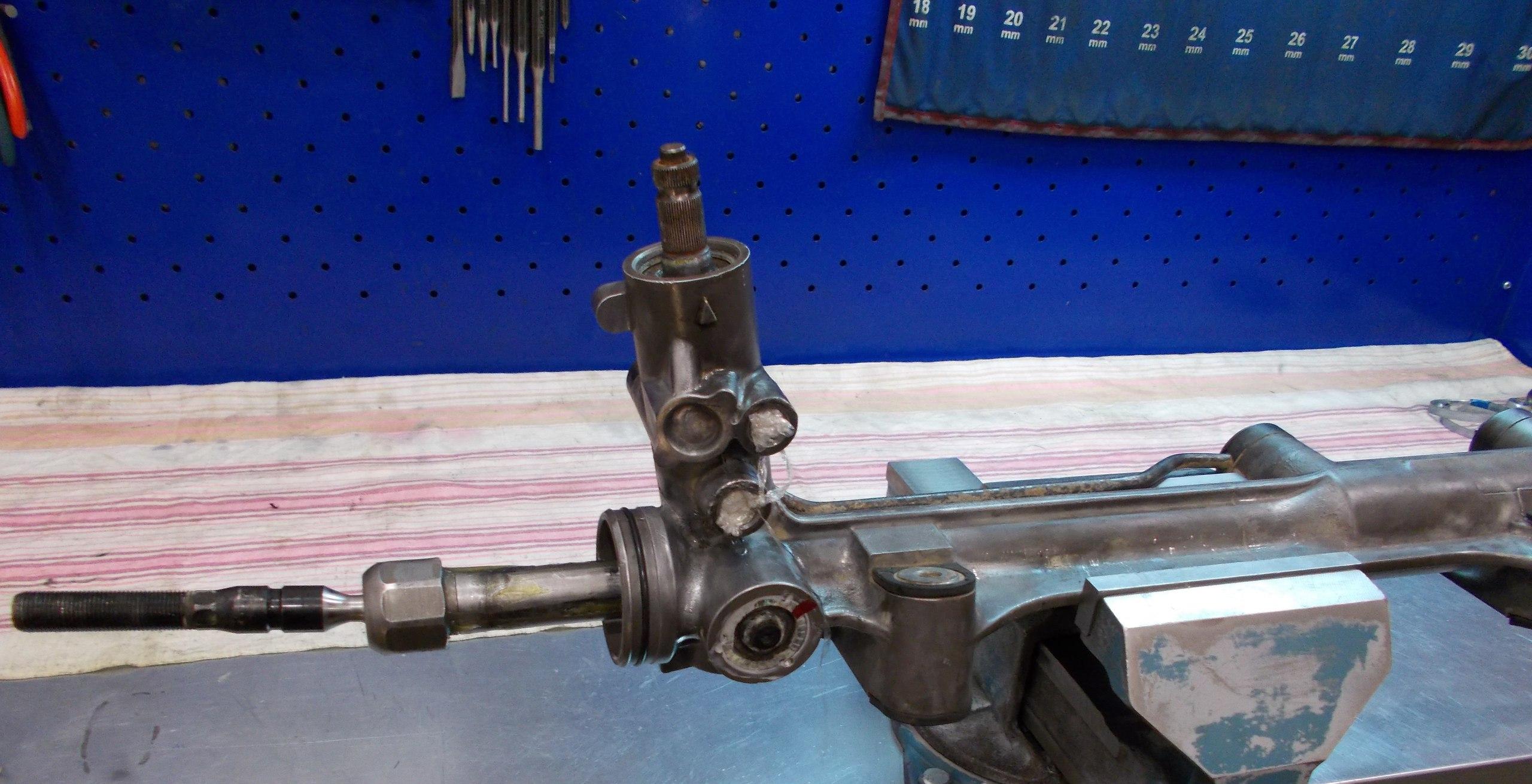 Ремонт рулевой рейки для рено симбол своими руками 94